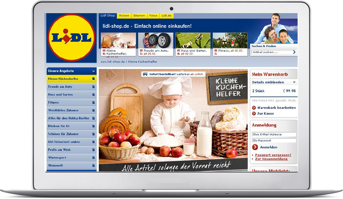mgm reference: LIDL - Lidl shop put into production for convenient ...